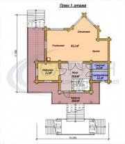 Проект Витязь - План 1 этажа